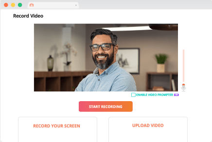 Record video lectures with webcam, screen capture & audio